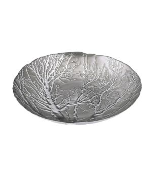 Ethereal Tree Bowl   Silver Plated