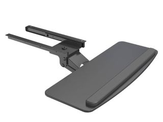 AIRlIFT Black 360 Adjustable Under the Desk Ergonomic Keyboard Tray and Mouse 25 in to 9 8 in