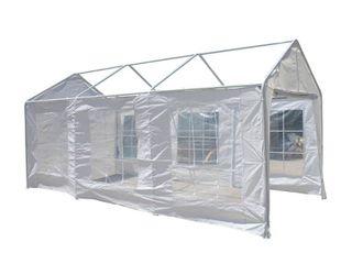 AlEKO Canopy Sidewalls White Walls 10X20 Carport Gazebo