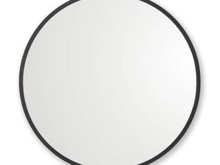 Rubber Framed Round Wall Mirror  Retail 91 99