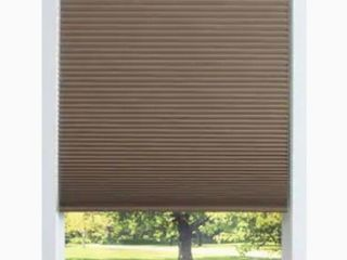 allen   roth 46 in x 64 in linen Blackout Cordless Cellular Shade