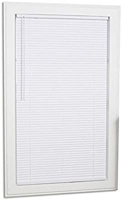 Project Source 1 in Cordless White Mini blinds Common  30 in  Actual  29 5 in