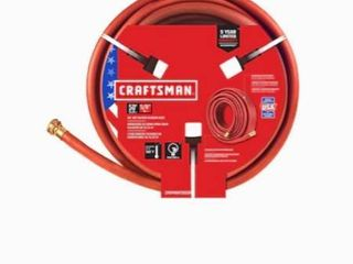 CRAFTSMAN Craftsman 5 8 in x 50 ft Premium Duty Rubber Red Hose