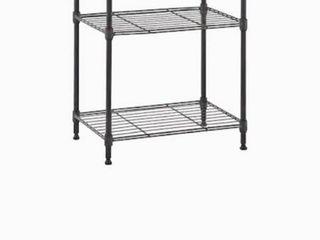 MZG 12 in D x 18 in W x 26 in H 3 Tier Steel Utility Freestanding Shelving Unit