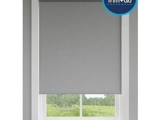 levolor Trim go 73  Oyster Grey Cordless Roller Shade  73 X 72 in