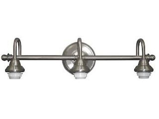 Portfolio Fv09 041 5 D c 3 light Brushed Nickel Bathroom Vanity light