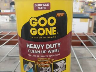 Goo Gone Heavy Duty Clean Up Wipes