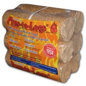 PRES TO lOG 6 Pack 5 lb Fire logs