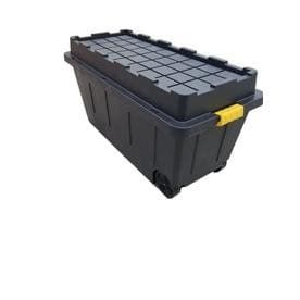 Centrex Plastics  llC Commander 64 Gallon Black Tote