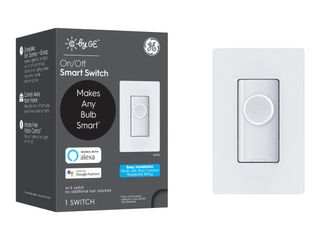 C by GE   3 Wire Smart Switch   White