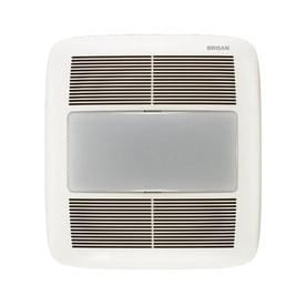 Broan 1 5 Sones 140 CFM White Bathroom Fan Room and Night light ENERGY STAR