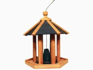 HomeGrown Eastern Red Cedar Cedar Hopper Bird Feeder