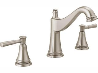 Delta 35777lF Mylan 1 2 GPM Deck Mount Widespread Bathroom Faucet