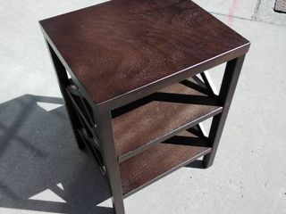 Wooden night stand  Coffee