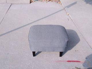 Gray Ottoman