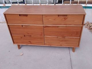 6 Drawer dresser Brown