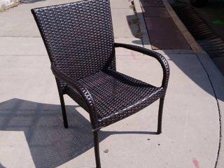 Gloss Brown lawn Chair