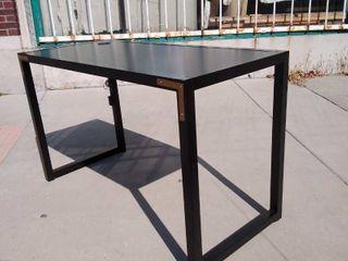 Black Desk with USB Port 51W x 23 5l x 31H
