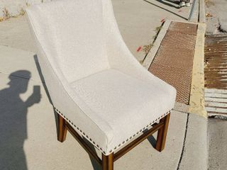 linen living Chair 23w x 24l x 38H