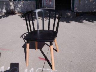 Black Dining Chair 16w x 17l x 30h