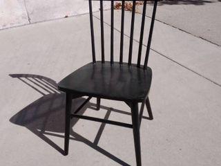Black Dining Chair 19w x 17l x 33H