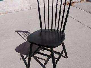 Black Dining Chair 17w x 17l x 36H