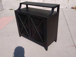 Black Console Table 34w x 15l x 32H