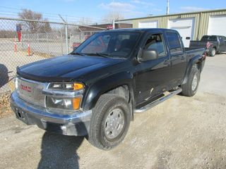 2008 CHEVROLET COLORADO CREW CAB 4X4