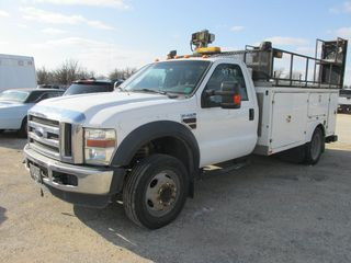 2009 FORD F450 XL REG CAB 4X2