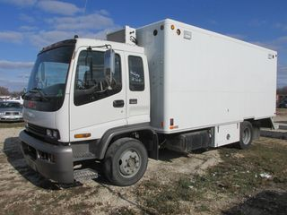 1998 GMC T5500 ENCLOSED VAN