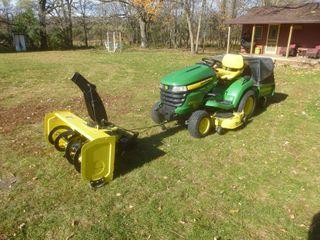 John Deere X 500 Lawn Tractor