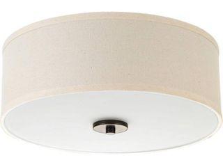 Progress lighting Inspire Steel 1 light lED Flush Mount  Retail 85 94