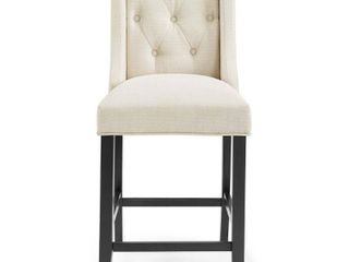 Copper Grove Ninh Button tufted Upholstered Counter Stool  Retail 153 49