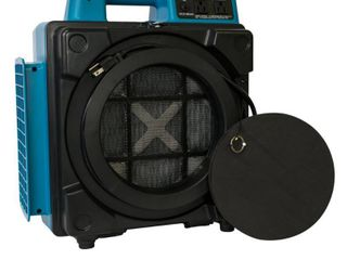 XPOWER X 2480A Commercial 3 Stage Filtration HEPA Purifier System  Negative Air Machine  Mini Air Scrubber with Power Outlets  Retail 699 00
