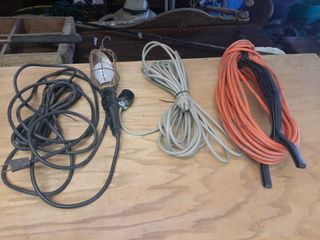 Extension Cords and Trouble light