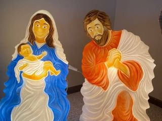 Holy Family blow molds
