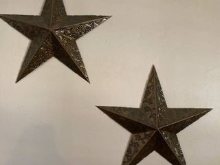 wall decor two stars