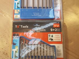 assorted drill bits  brad point   spade