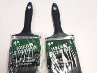 2  Value Stainer 4  Polyester Stain Brush