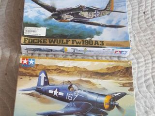 2 model airplanes  unopened