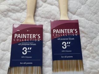 2   3  paint brushes