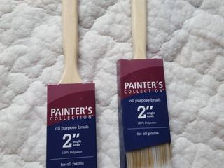 2   2  paint brushes