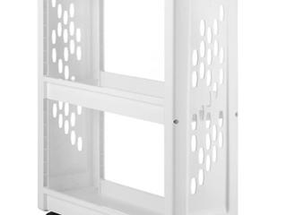 Whitmor 6208 5120 3 Tier laundry Cart White
