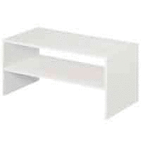 ClosetMaid  8993 Stackable 24in  Wide Horizontal Organizer  White