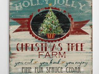 Wexford Home  Ad  Christmas Tree Farm  16 inch x 16 inch  24 inch x 24 inch  36 inch x 36 inch Gallery wrapped Canvas Art Retail 77 48