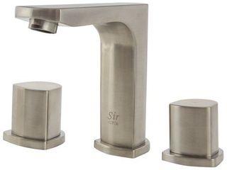 Sir Faucet 728 Widespread Double Knob Bathroom Faucet  Retail 176 49