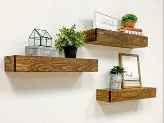 Artisan Haute Floating Shelves set of 3