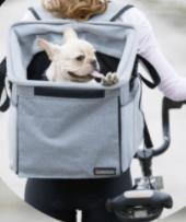 BarkBay  Pet Carrier BackPack Bag Gray