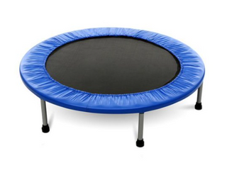 38  Foldable Trampoline  Blue
