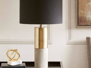 Madison Park MPS153 0079 27 5 in  Table lamp   Gold   Black